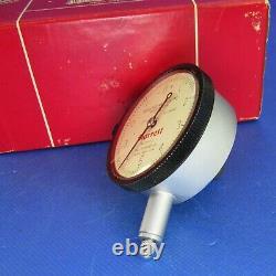 Vintage STARRETT 25-111S BRIDGPORT Dial Indicator excellent original Machinist