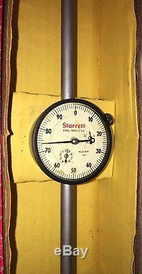 Vintage Starrett 25-4041 Dial Indicator