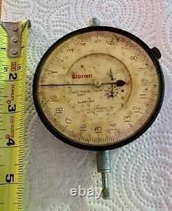 Vintage Starrett Dial Indicator 656-617, Machinist gauge, smooth operation