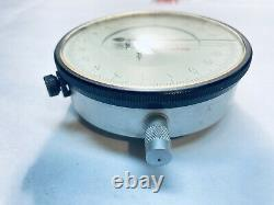 Vintage Starrett Dial Indicator #656-617J with #674-2 Starrett Back Mount Bracket