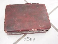 Vintage Starrett Dial Indicator Case Extras Machinist Tools