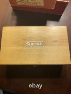 Vintage Starrett Heavy Duty Dial Test Indicator Complete