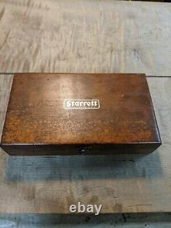 Vintage Starrett No. 196 Dial Indicator Set
